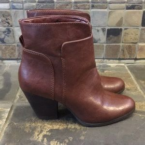 Nine West Heeled Ankle Boots Size 7